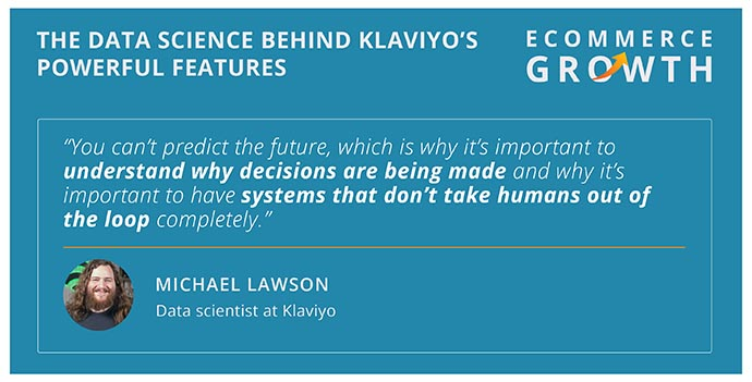 Michael Lawson discusses the systems behind Klaviyo