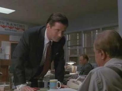 Alec Baldwin scolding an employee