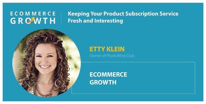 Etty Klein of Plonk Wine Club Headshot Card