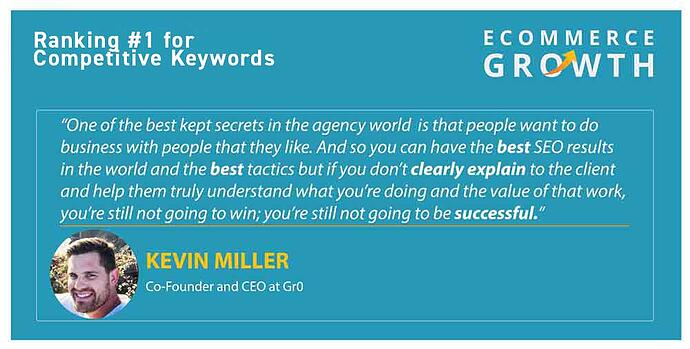 Kevin Miller - Ranking 1 - Quote
