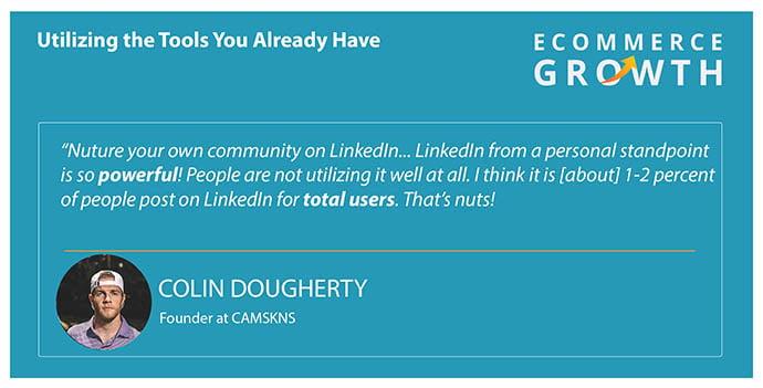 Colin Dougherty on leveraging LinkedIn