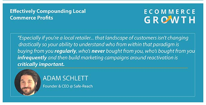Adam Schlett on establishing connections with local retailers