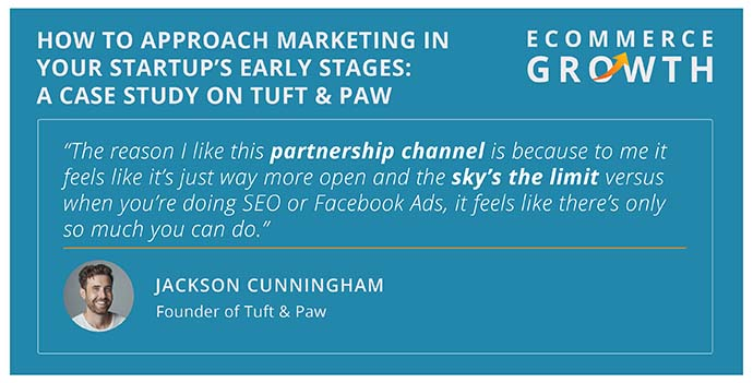 How to approach marketing with Jackson Cunningham