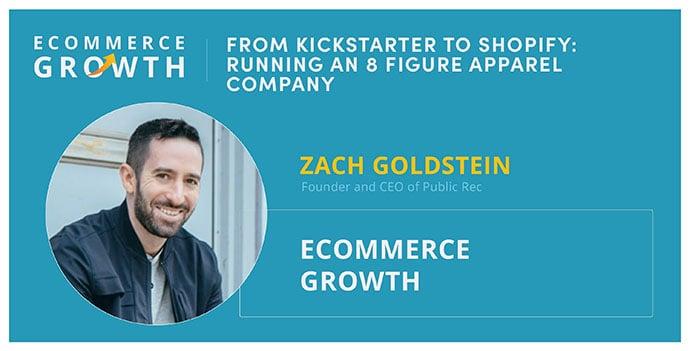 Zach Goldstein, founder of Public Rec