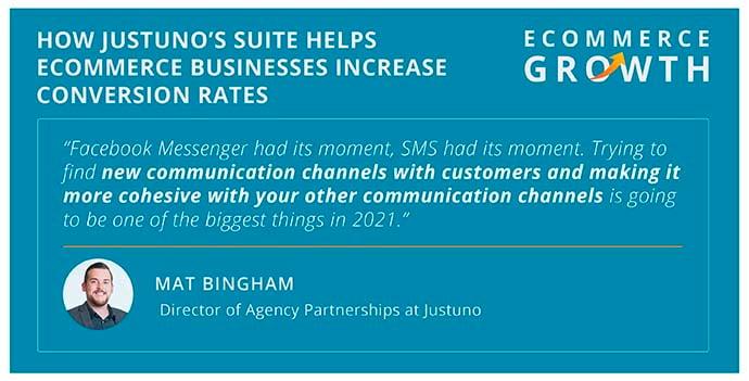 Mat Bingham on finding new communication tools.